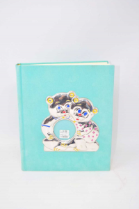 Album Holder Photo Green With Coat Of Arms Teddy Bears Silver