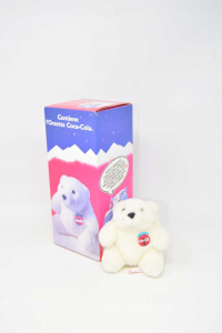 Puppet Teddy Bear Coca Cola Olimpiadi Liellehammer 94