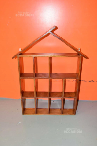 Cottage Holder Wooden Items Pensile To Hang
