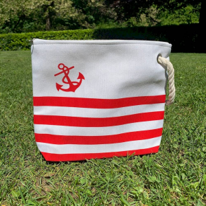 Pochette nautica rossa