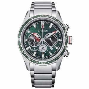 Citizen Crono Super Titanio CA4490 quadrante verde