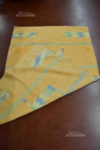 Carpet Orange In Wool Fantasy Shapes 180x220 Cm