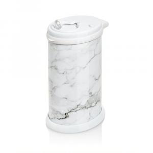 Cestino mangiapannolini in inox marmo