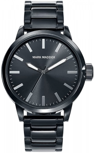 Orologio uomo Mark Maddox. Total Black.