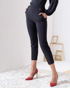 Pantalone Nero Skinny Elisabetta Franchi SS21