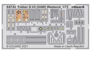 Fokker D.VII (OAW) Weekend