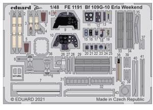 Me-109G-10 ERLA Weekend