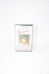 Audiocassetta Toto Cotugno Mediterraneo