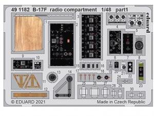 B-17F Radio Compartment