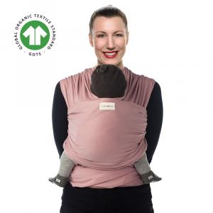 Soft Pink Organic wrap - Fascia portabebè