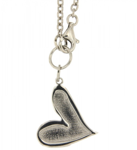 Collana donna Sweet Years. Cuore, Argento.