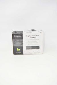 Digitale Terrestre Dvb-t Con Telecomando E Usb Compreso Di Presa Scart