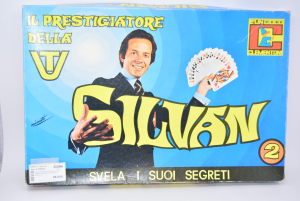 Game Vintage Silvan Svela The His Secrets Scatola2 Clementoni (used)