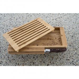 Coltello Da Pane Con Vassoio In Legno Per Tagliare Il Pane Con Spazio Per Riporre Coltello Funzionale Casa Cucina