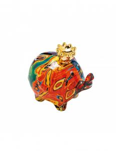 Salvadanaio elefante in porcellana colori assortiti