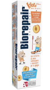 Biorepair Kids Dentifricio Pesca 0-6 Anni 50ml