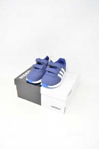 Scarpe Bambino Adidas Colore Blu N. 25 NUOVE