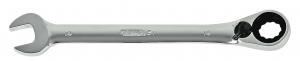Chiave combinata a cricchetto reversibile in millimetri Rexta 51