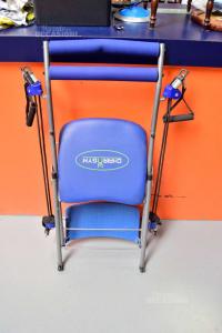 Sedia Chair Gym Blu Fitness