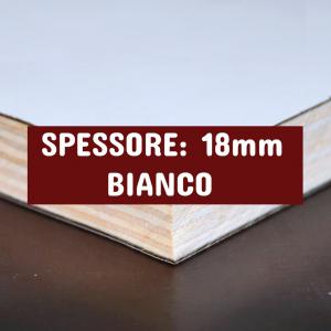 Tavola Multistrato Bilaminato Bianco - Spessore: 18mm - Scegli tu le misure!