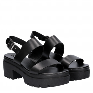 Windsor Smith Emmy black leather