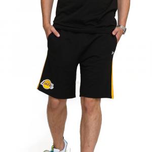 New Era Bermuda LA Lakers Nero da uomo