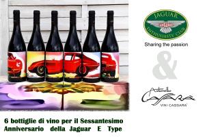 Box Jaguar E Type - Edizione Limitata - Cartone da 6 bottiglie