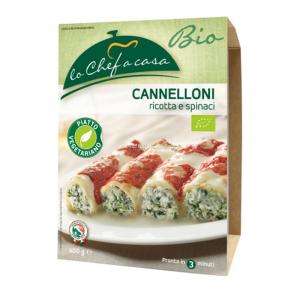 Cannelloni Riccotta e Spinaci 400 gr Chef a Casa