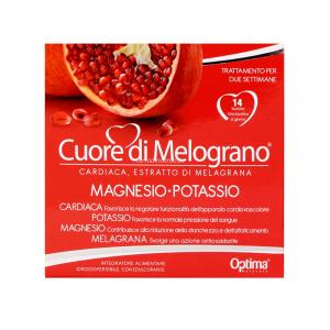 Magnesio Potassio 14 Bustine Cuore di Melograno