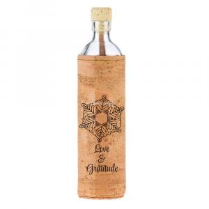 Flaska 0,30 LT Cover in Sughero Peace