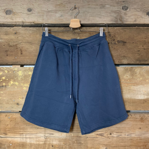 Pantaloncini Colorful Standard 100% Organic Cotton Petrol Blue
