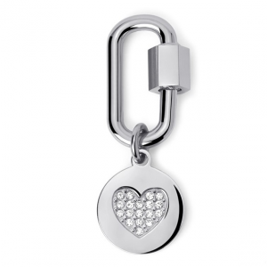 2Jewels Lucchetto Lock 'n' Chain - Ovale Cuore