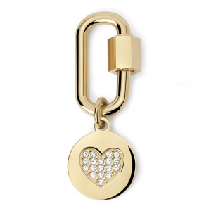 2Jewels Lucchetto Lock 'n' Chain - Ovale Cuore Pvd Gold