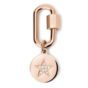 2Jewels Lucchetto Lock 'n' Chain - Ovale Stella Pvd Rosé