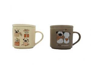 Brandani 2 tazze mug cani