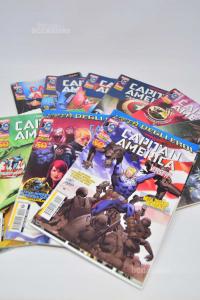 Fumetti Marvel Capitan America (dal n 1 al 10 )