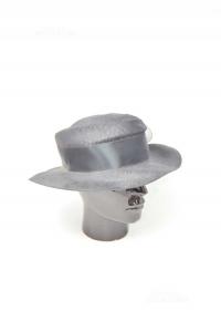 Cappello Donna Nero Viscosa Made In Italy