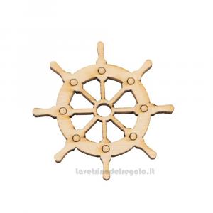 Applicazione Timone in legno 4 cm - Decorazioni matrimonio