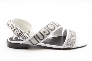 Liu Jo sandalo basso con glitter