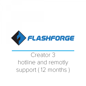 Support Basic FlashForge- HotLine support and maintenance for 12 months