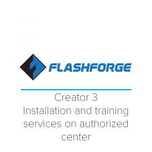 Creator 3 installation and training services on authorized center