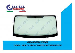 PARABREZZA VERDE PER IVECO - DAILY - VAN - 2 PORTE - 06/1999-07/2014