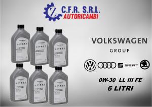 6PZ OLIO LUBRIFICANTE PER VW 0W-30 ORIGINALE