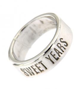 Anello Unisex Sweet Years. Argento 925.