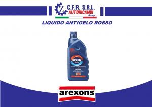 LIQUIDO ANTIGELO PROTETTIVO RADIATORI PLURISTAGIONALE 8010 ROSSO