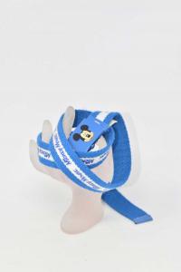 Belt Boy Mickey Mouse Blue White 80 Cm