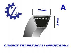CINGHIA TRAPEZOIDALE INDUSTRIALE SEZIONE A80 13X2032
