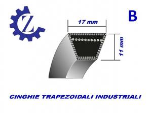CINGHIA TRAPEZOIDALE INDUSTRIALE SEZIONE B 86 17X2187