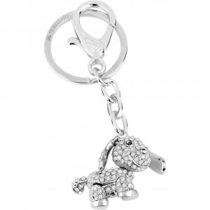 Portachiavi Morellato Collezione Magic cane con cristalli SD0383