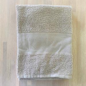 Asciugamani Tela aida tortora